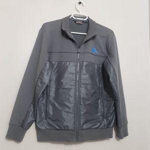 Kappa Vintage Muted Grey Blue Men's Zip Up Jacket